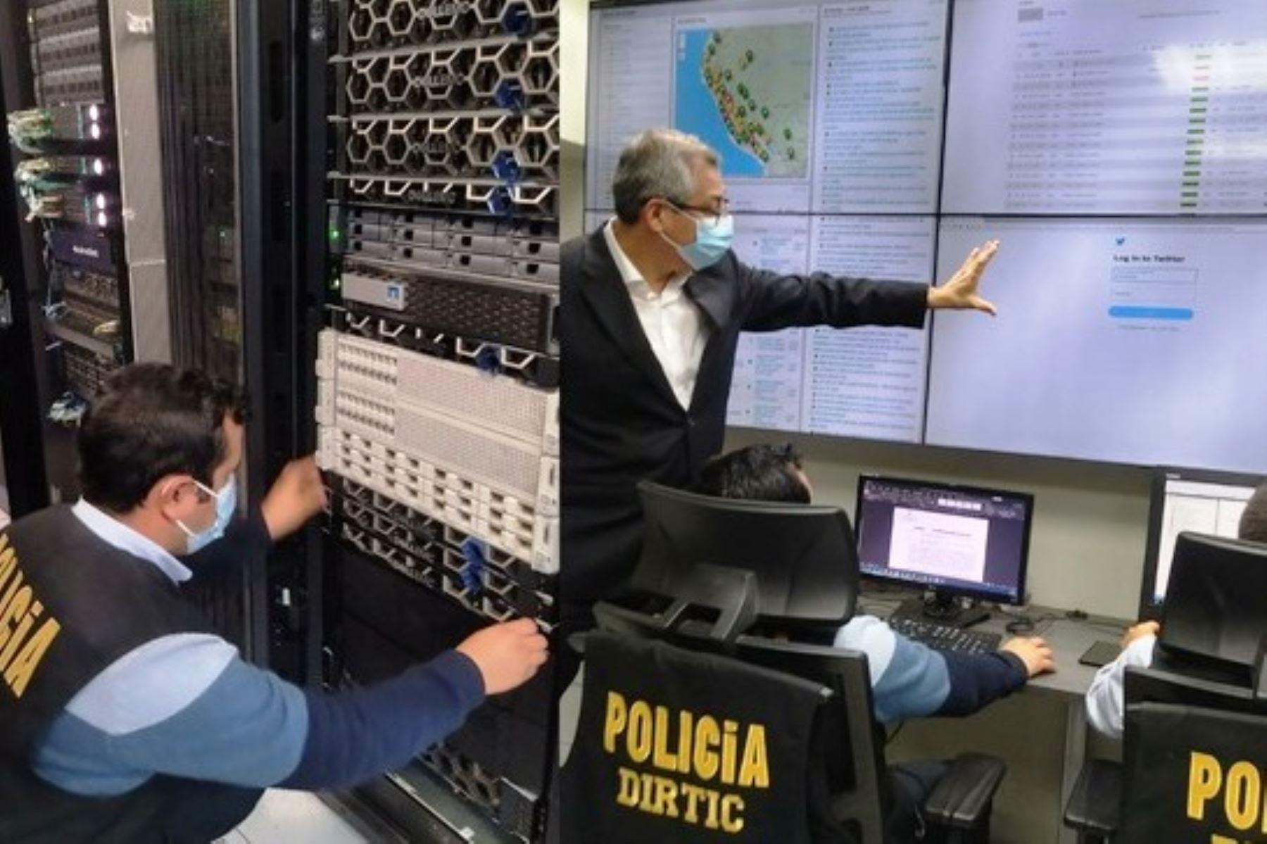 Policía potencia su sistema informático para reforzar seguridad ciudadana. Foto: ANDINA/Difusión.