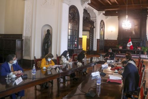 Presidente Francisco Sagasti lideró sesión del Consejo de Estado
