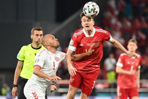 Rusia y Dinamarca se enfrentan por el grupo B de la Eurocopa 2020