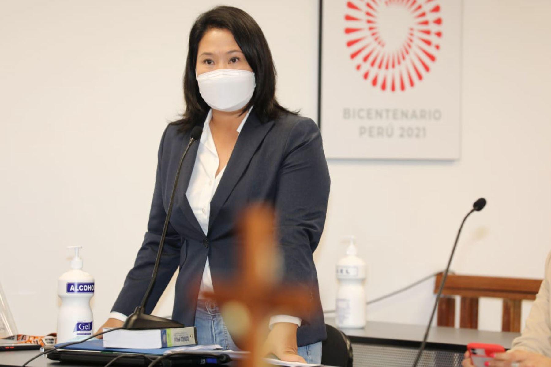 Fiscalía abre nueva investigación a Keiko Fujimori por audios de Montesinos