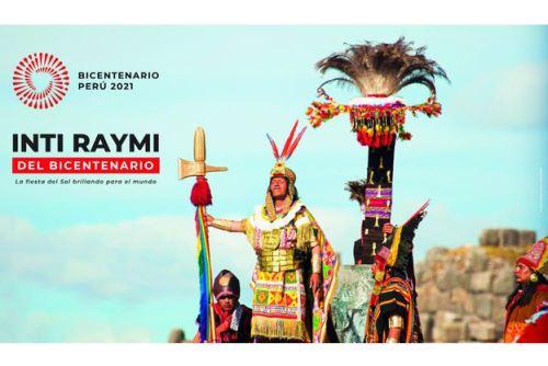 El Inti Raymi del Bicentenario se desarrollará sin público, y cumpliendo todas las medidas de bioseguridad, en los tres escenarios habituales. Foto: ANDINA/Mincul