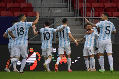 Argentina gana 1 a 0 ante Paraguay por la Copa América 2021