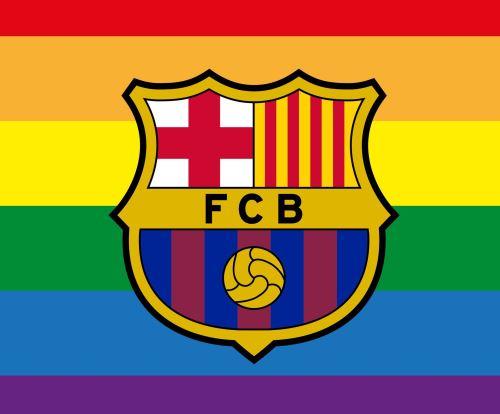 El club Barcelona brindó un mensaje de apoyo al movimiento LGTBI.
