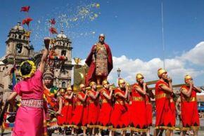Celebración del Inti Raymi, la festividad más importante del calendario jubilar del Cusco. Foto: Cortesía.
