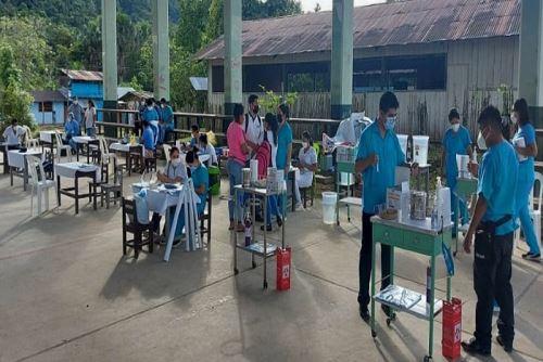 La provincia de Condorcanqui recibirá 14 mil dosis para inmunizar a la población indígena de 18 a 59 años.
