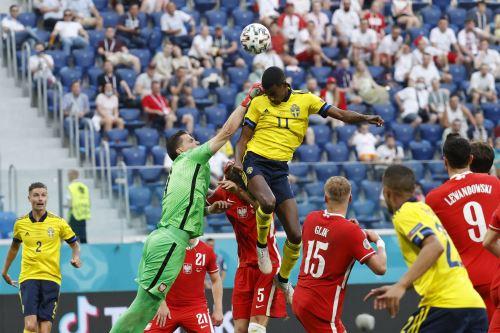 Polonia choca ante Suecia por el Grupo E de la EUFA EURO 2020