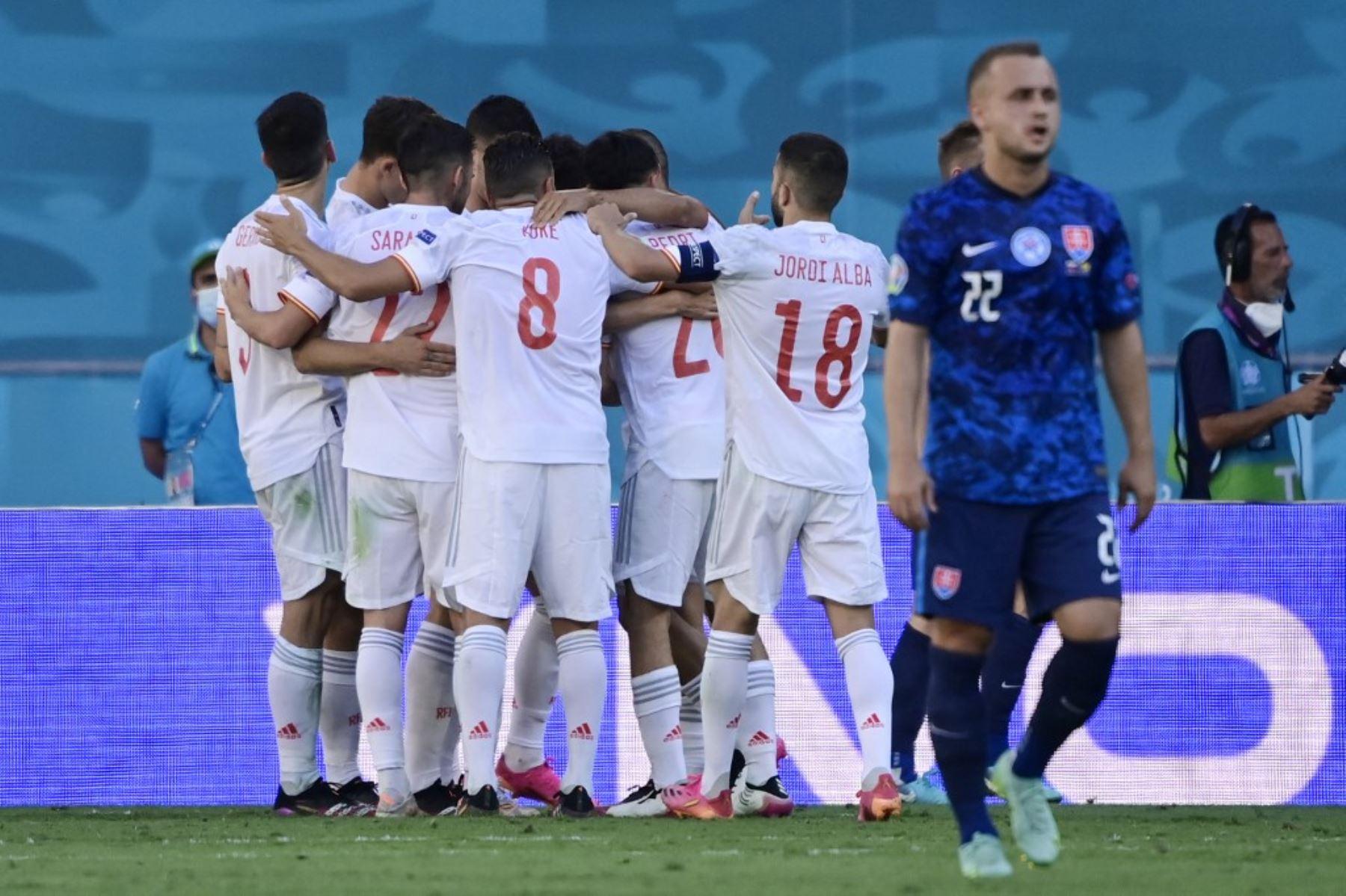 España se metió a los octavos de final de la Eurocopa y se medirá con Croacia de Modric
