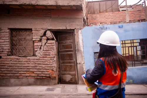MML supervisa daños en propiedades del Cercado luego de sismo