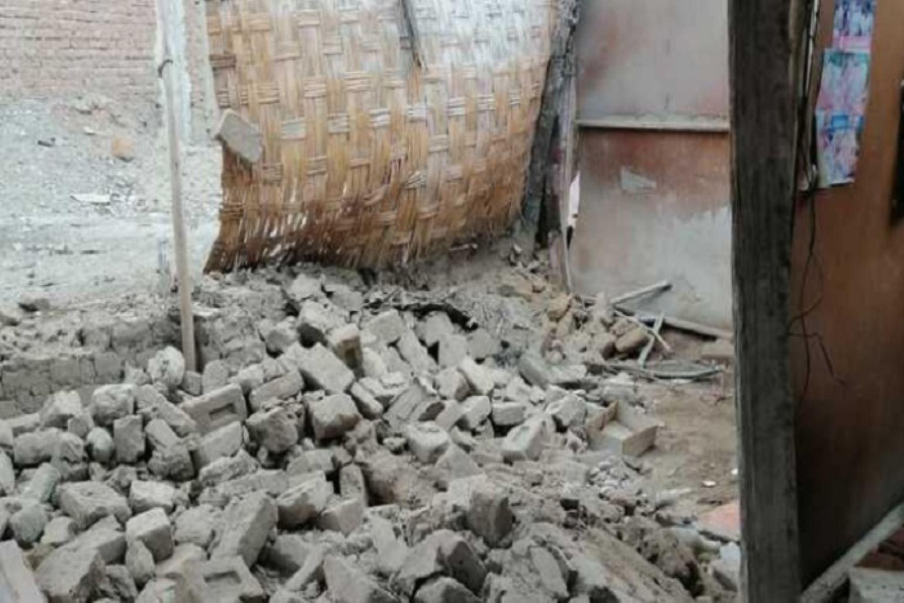 La Municipalidad Distrital de Mala precisó que se coordina con el Gobierno Regional de Lima Provincia el apoyo con bienes de ayuda humanitaria y la evacuación de 20 familias,