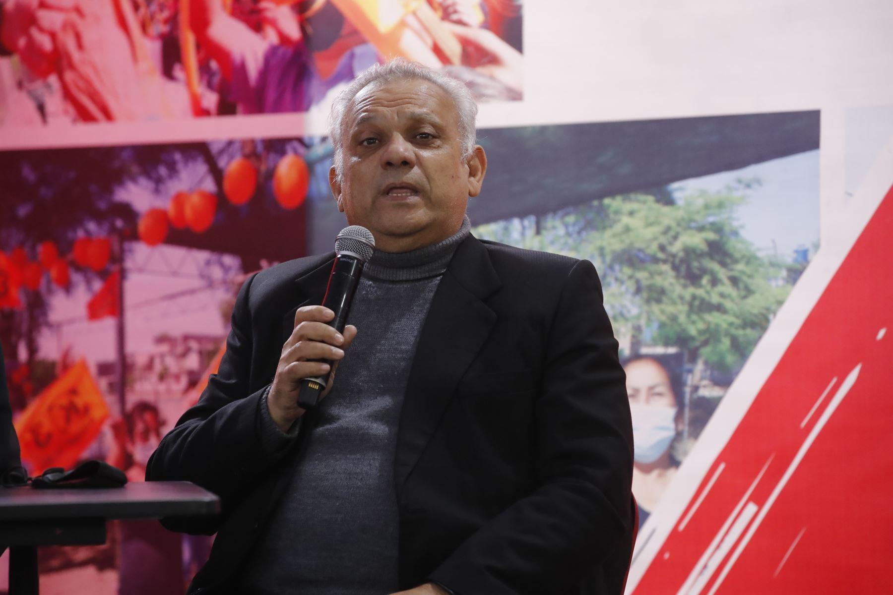 Fuerza Popular brinda conferencia de prensa tras audiencia del JNE. Foto: Juan Carlos Guzmán
