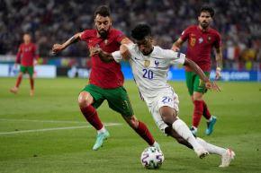 Portugal y Francia igualaron en el último partido de la fase de grupos
