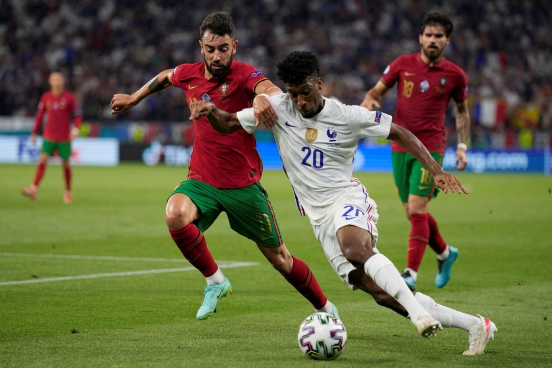 Portugal y Francia igualaron en el último partido de la fase de grupos.