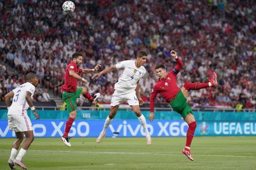 Portugal 2-2 Francia por el Grupo F de la UEFA EURO 2020