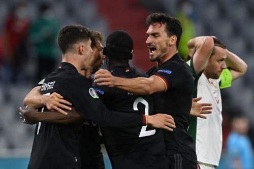 Los alemanes estuvieron a un paso de quedar eliminados de la Eurocopa.