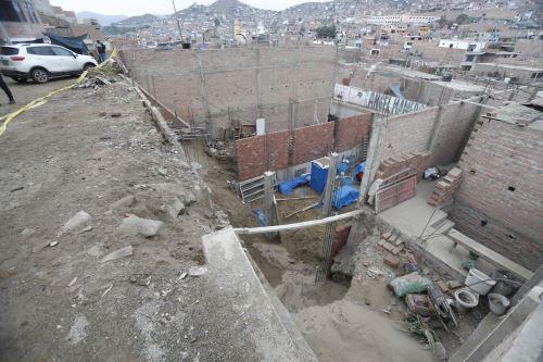 Se ha considerado la evaluación de daños en las provincias de Cañete, Oyón, Yauyos y Lima, en el departamento de Lima, además del distrito huancavelicano de Aurahuá. Foto: ANDINA/Difusión