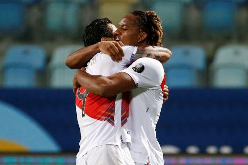 Perú iguala  2-2 ante Ecuador por la Copa América 2021