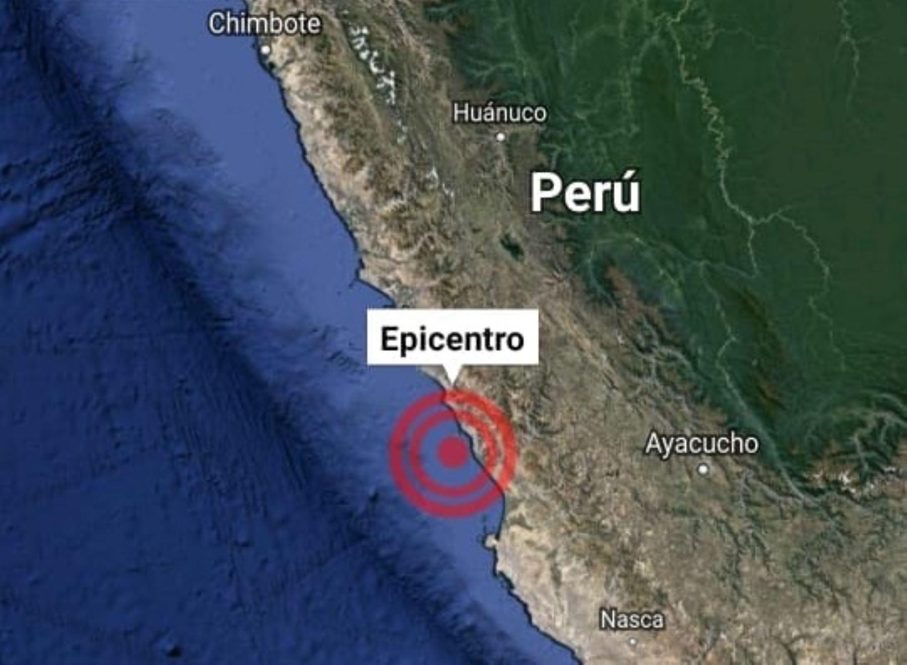 Un nuevo temblor de magnitud 3.6 se registró esta madrugada en el distrito de Mala, en la provincia limeña de Cañete. ANDINA/Difusión.