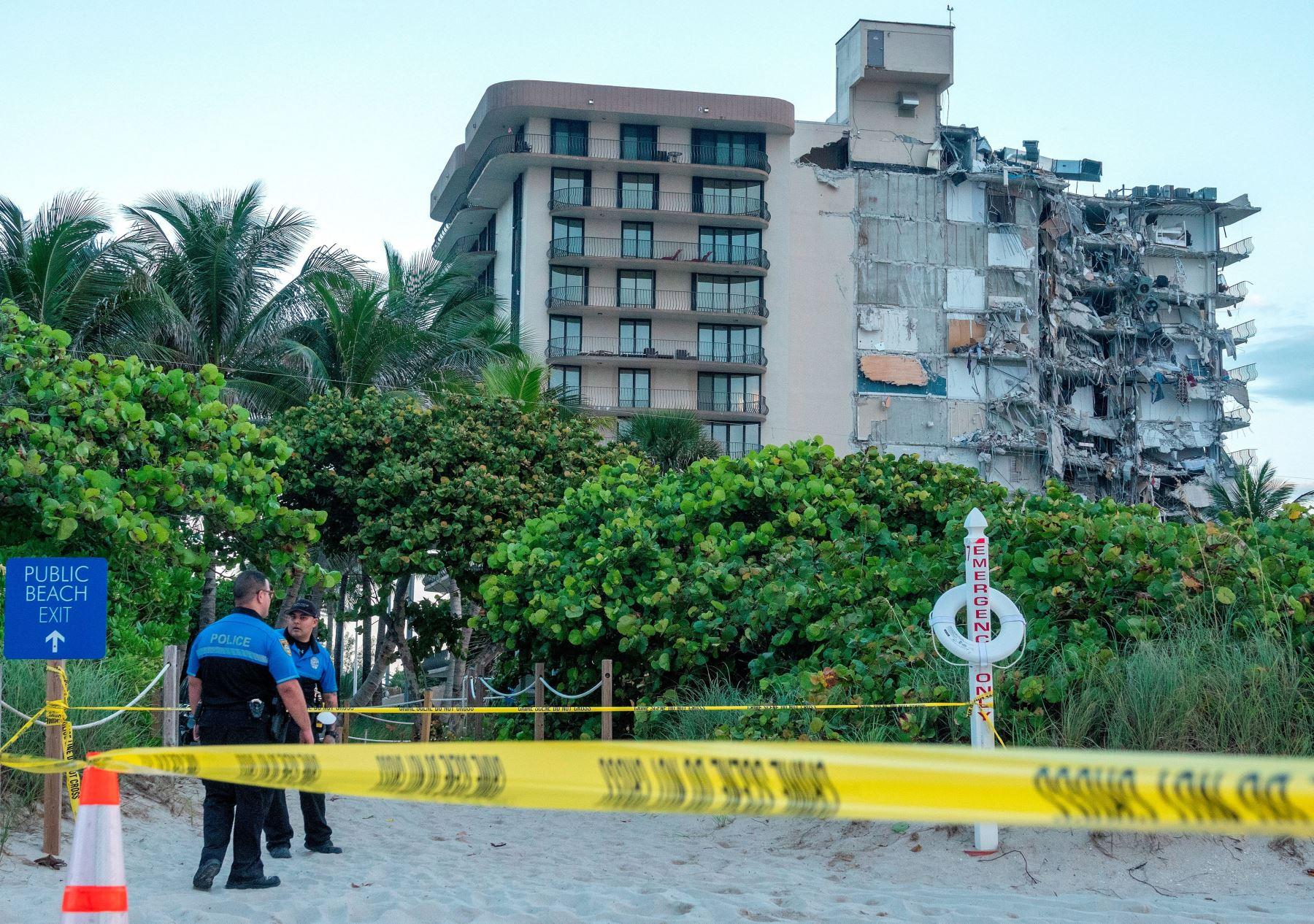 Estados Unidos: Encuentran 10 cuerpos más en restos de edificio derrumbado en Miami