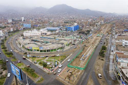 La Municipalidad de Lima realiza trabajos de ampliación Norte del Metropolitano