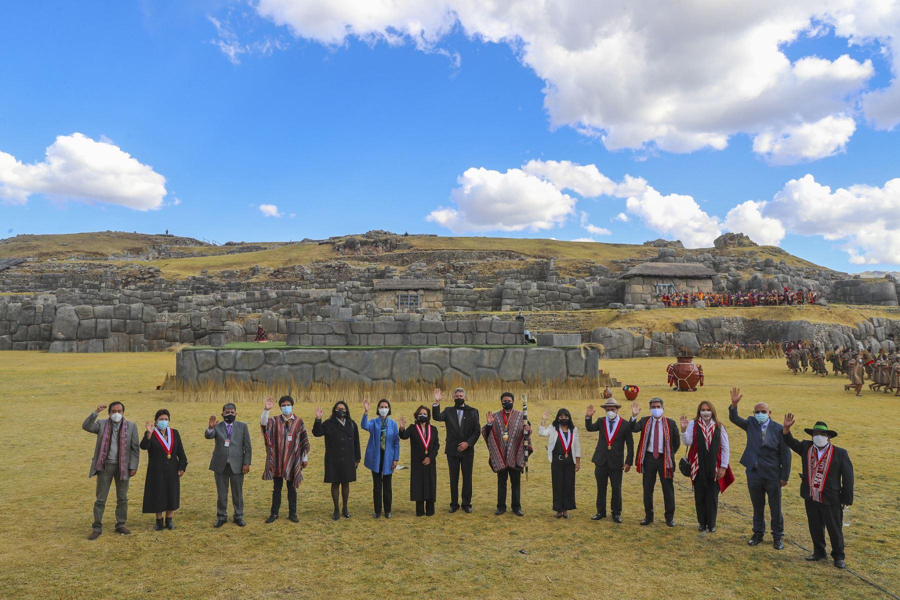 La puesta en escena del Inti Raymi del Bicentenario se transmitió en TV Perú y redes sociales y llegó a más de 100 canales de Latinoamérica.