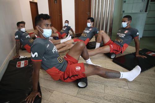 Selección peruana volvió a los entrenamientos