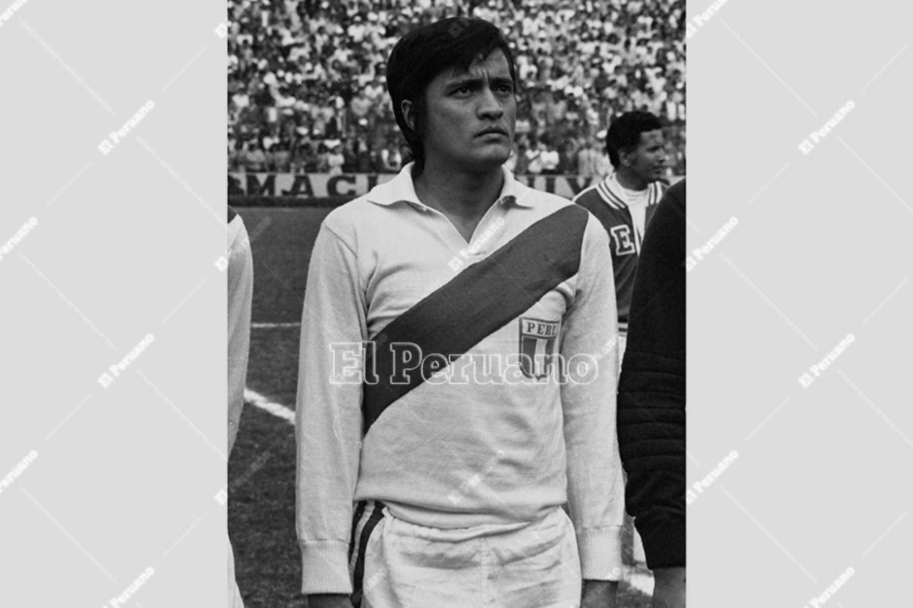 Eleazar Soria Ibarra falleció a los 73 años. Foto: ANDINA/archivo.