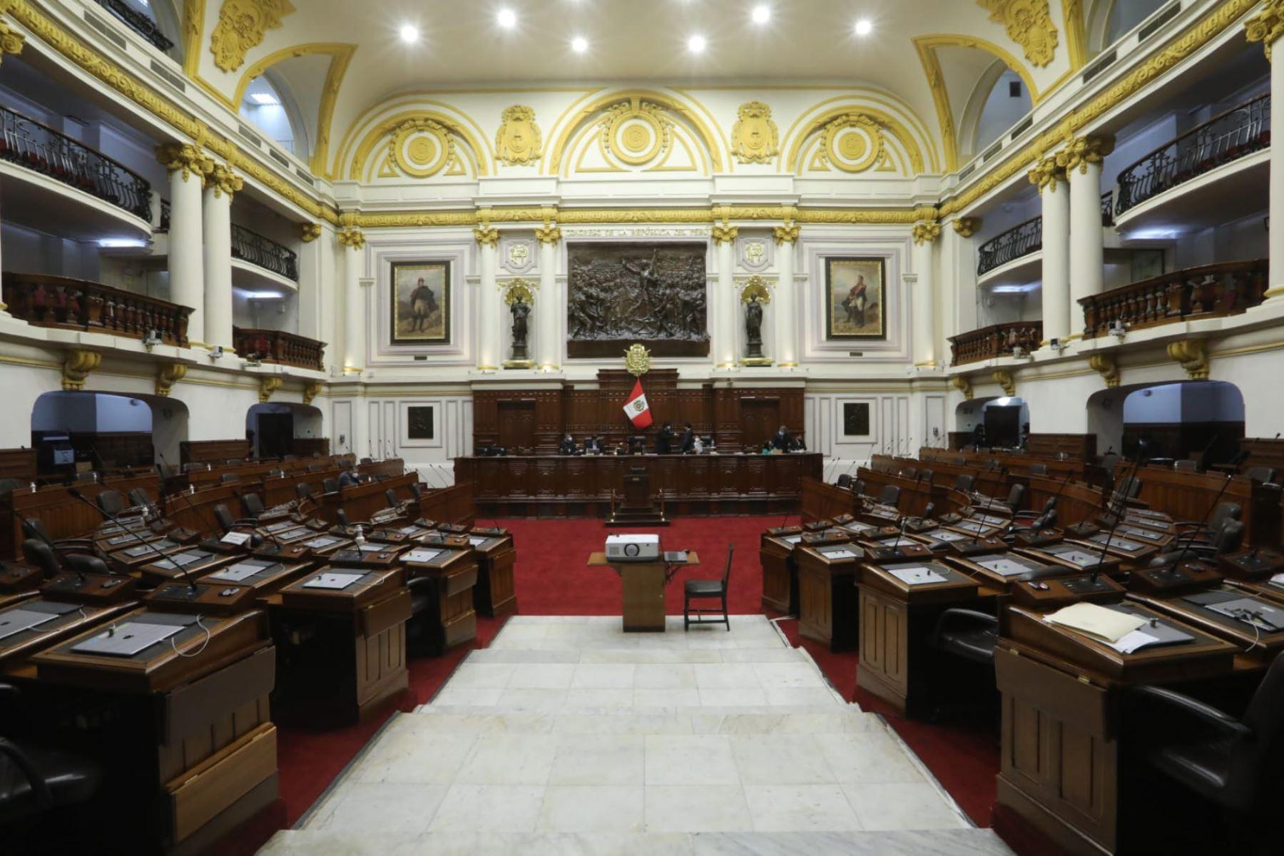 Congreso: Junta de Portavoces se reúne hoy para ver elección de magistrados al TC