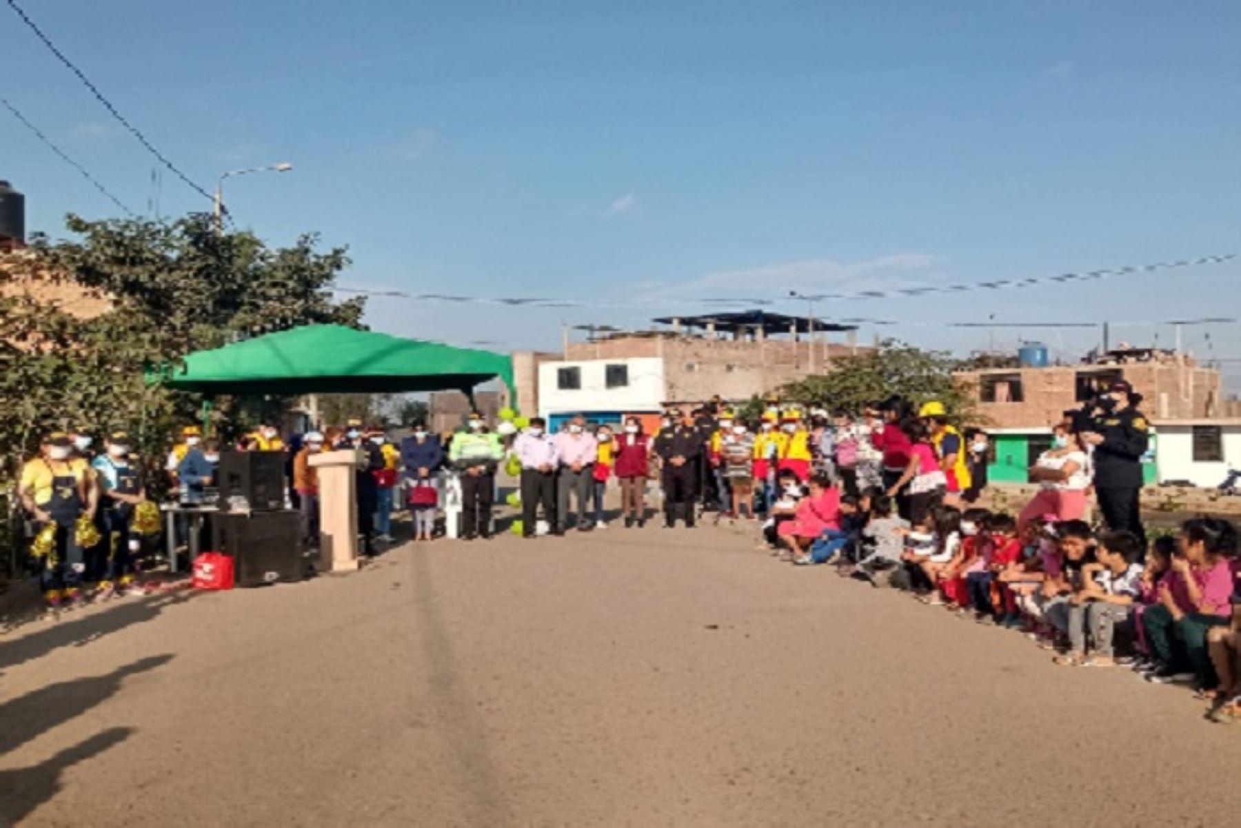 El Parque Húsares de Junín se recuperó en uno de los distritos con más alto índice delincuencial de la provincia de Trujillo.