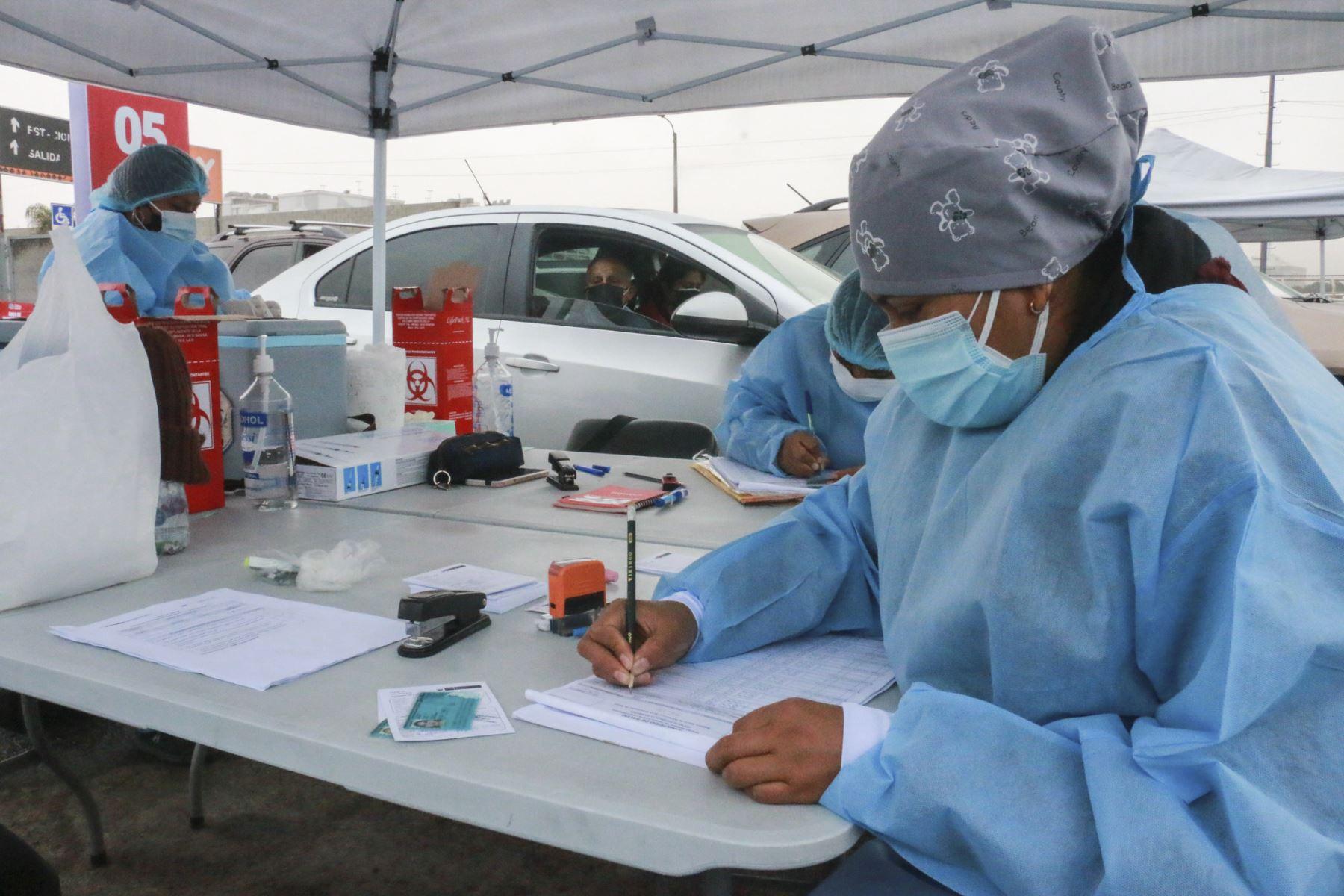 Centro de inmunización en la modalidad de