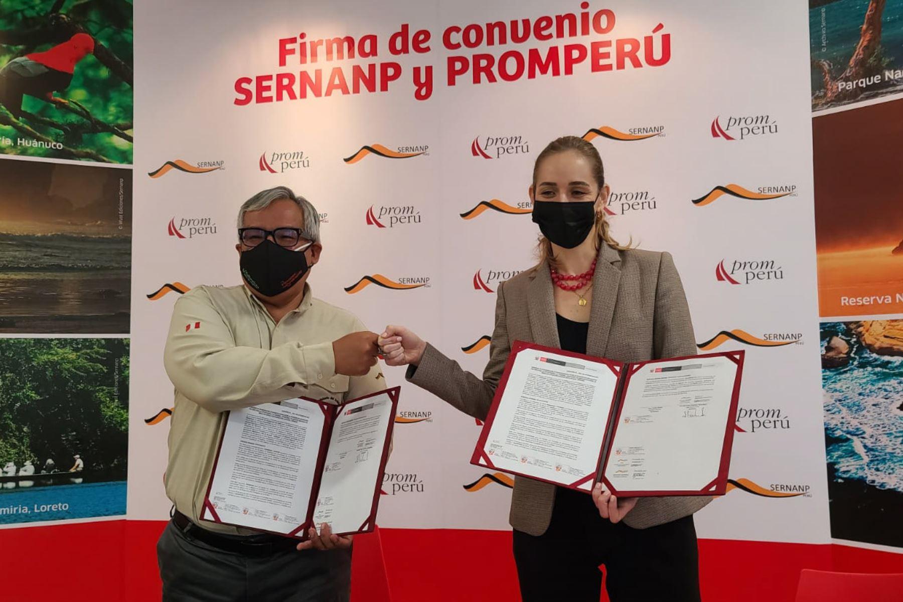 Promperú y Sernanp pondrán en valor y promocionarán la visita responsable hacia las más de 40 áreas naturales protegidas del territorio nacional . Foto: ANDINA/Difusión