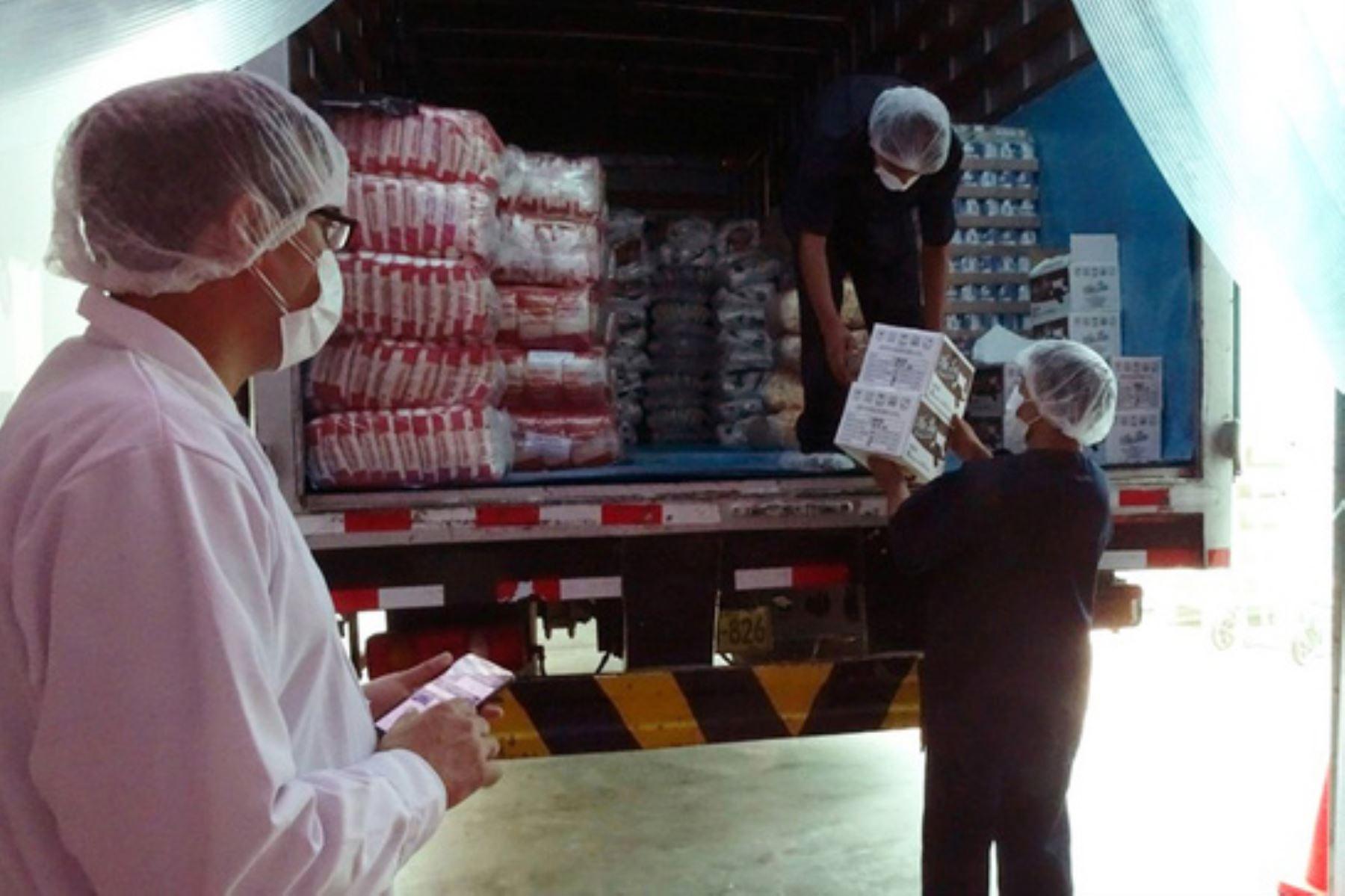 Los proveedores de la Unidad Territorial Lima Provincias de Qali Warma iniciaron el 22 de junio el reparto de alimentos en 763 escuelas de las provincias de Huaura, Canta, Huaral y Barranca, para la atención de 76,149 niñas y niños. Foto: ANDINA/Midis.