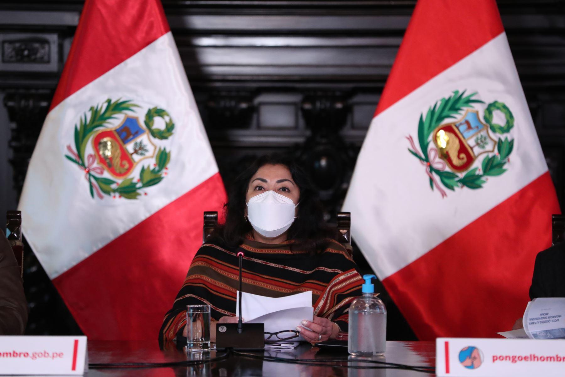 Violeta Bermúdez informará acuerdos asumidos en Consejo de Ministros