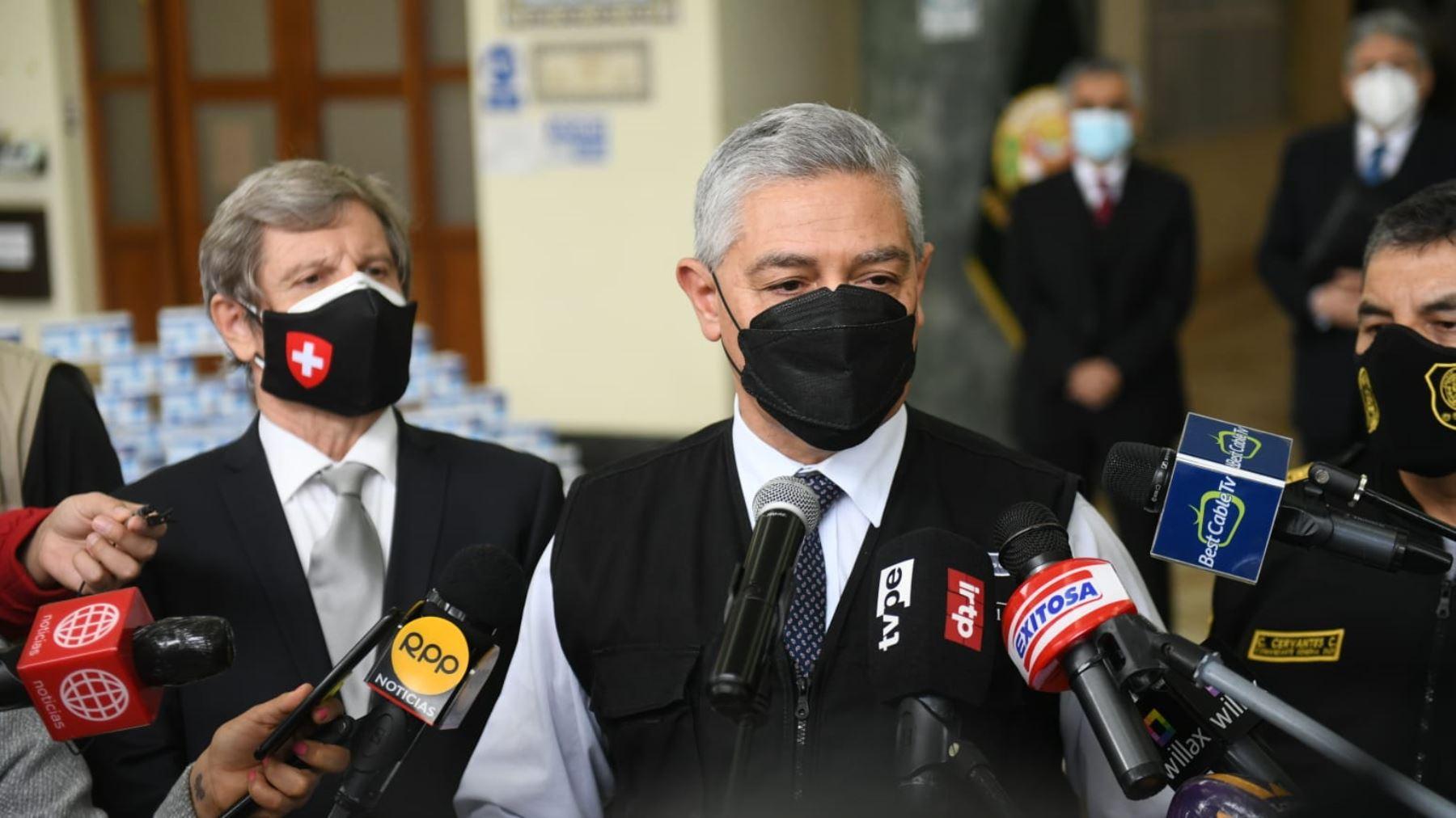 José Elice: PNP colabora en investigación por agresiones a ciudadanos y ministros