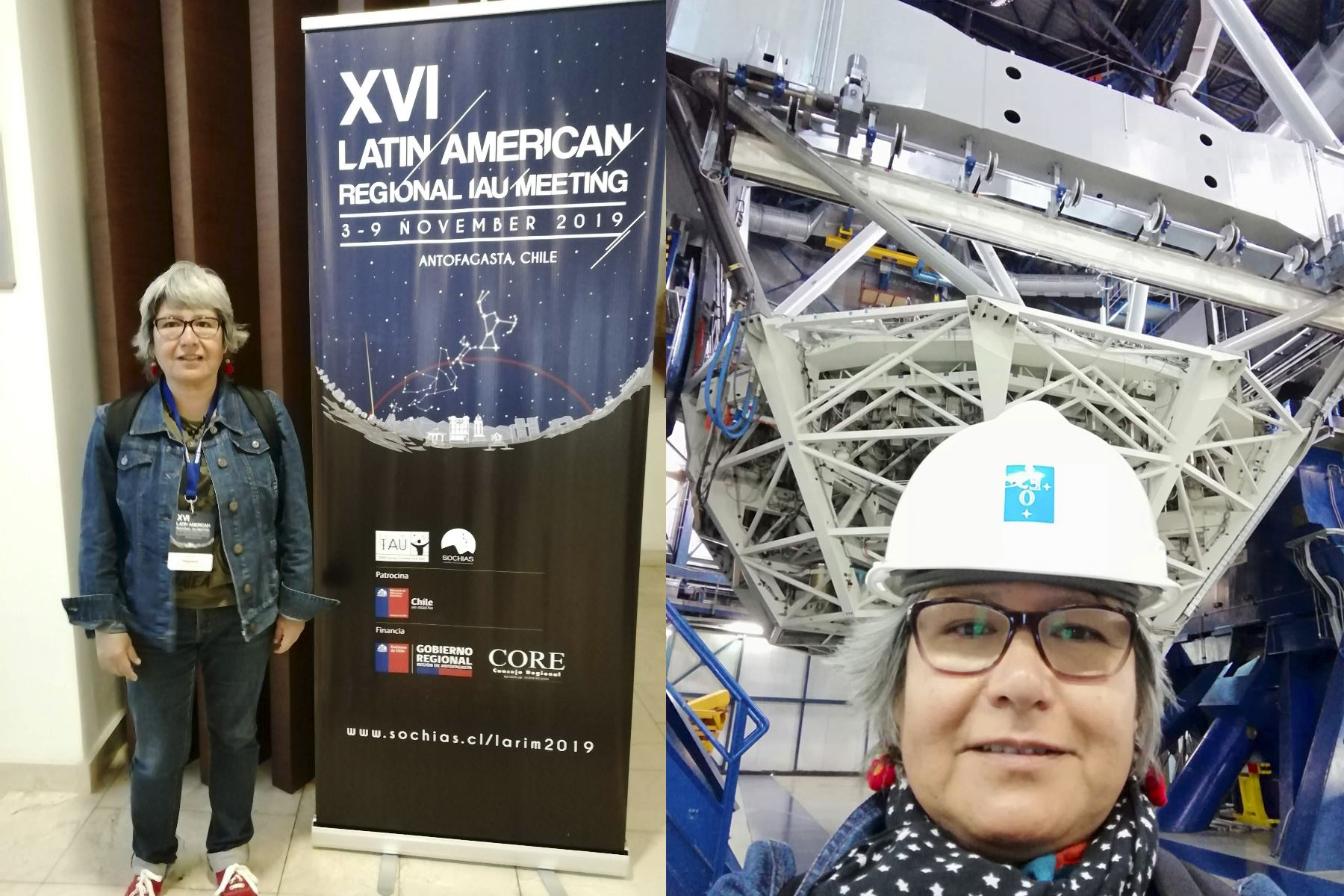 La Dra. Myriam Pajuelo, docente e investigadora de la Pontificia Universidad Católica del Perú,   fue reconocida por su amplia trayectoria en astronomía planetaria.