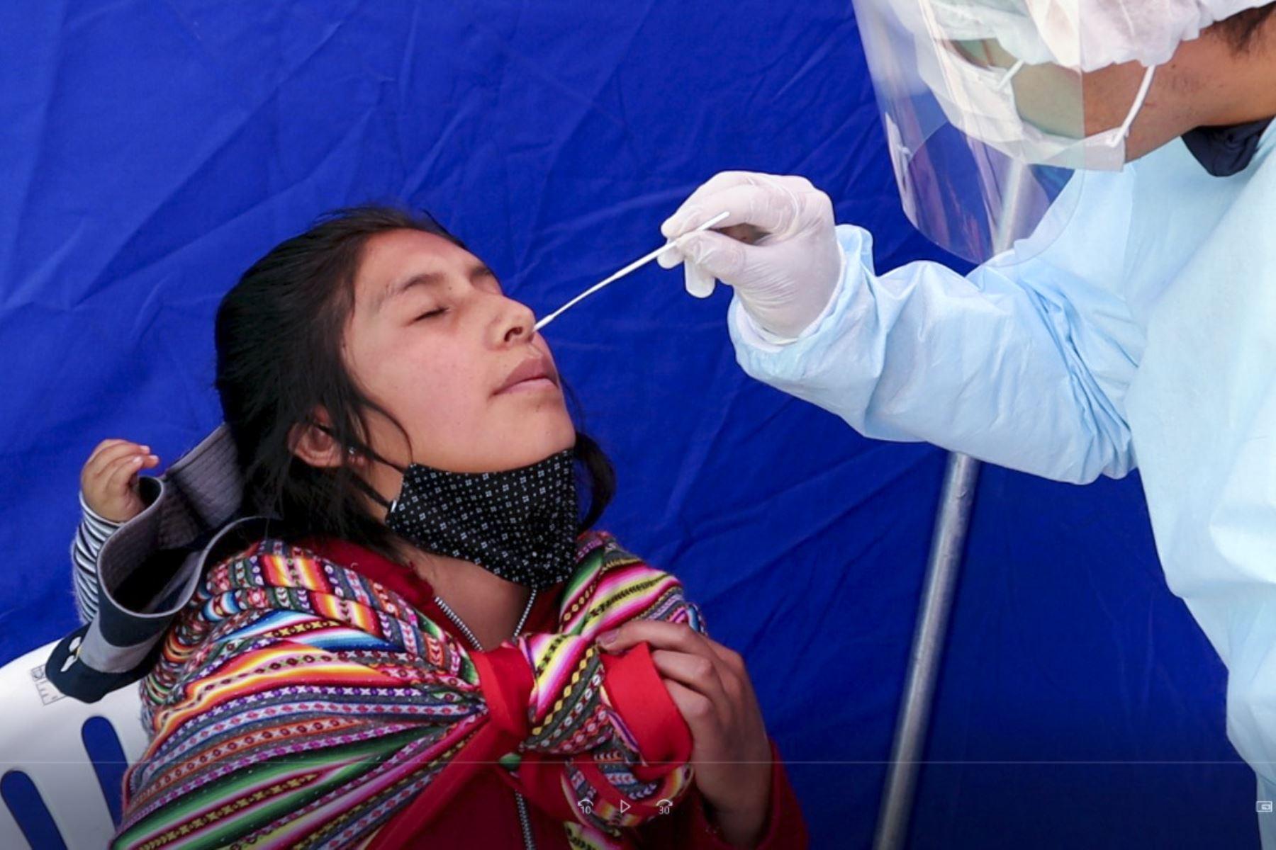 Junín reporta un descenso significativo de nuevos casos de covid-19