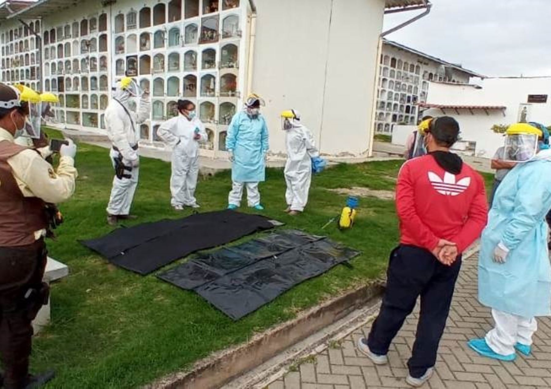 Cajamarca confirma descenso en número de fallecidos y nuevos contagios por la pandemia de covid-19. ANDINA/Difusión