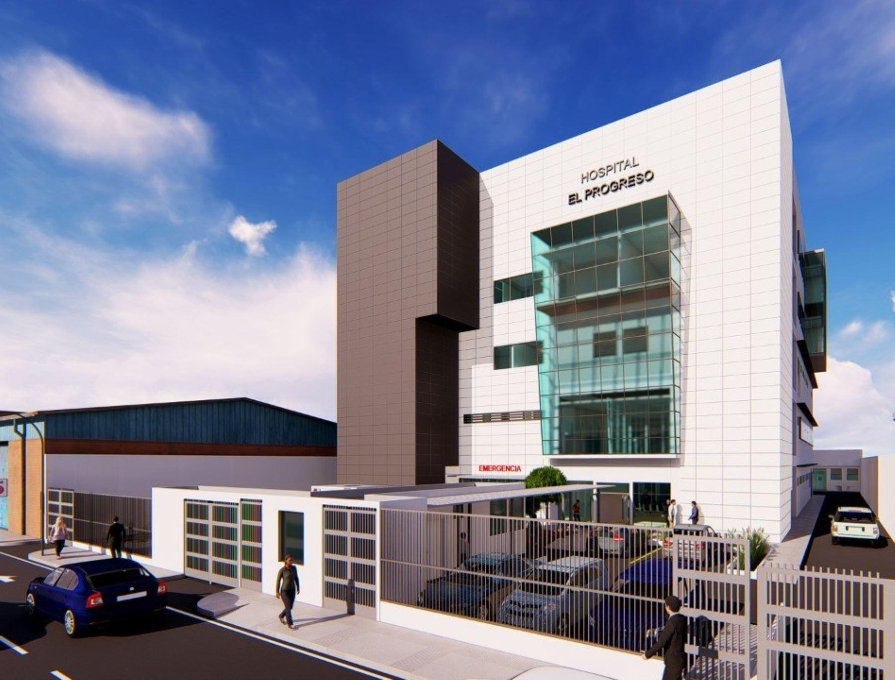 Se iniciaron los trabajos de construcción del Hospital Progreso en la ciudad de Chimbote, región Áncash, informó el Programa Nacional de Inversiones en Salud (Pronis). ANDINA/Difusión