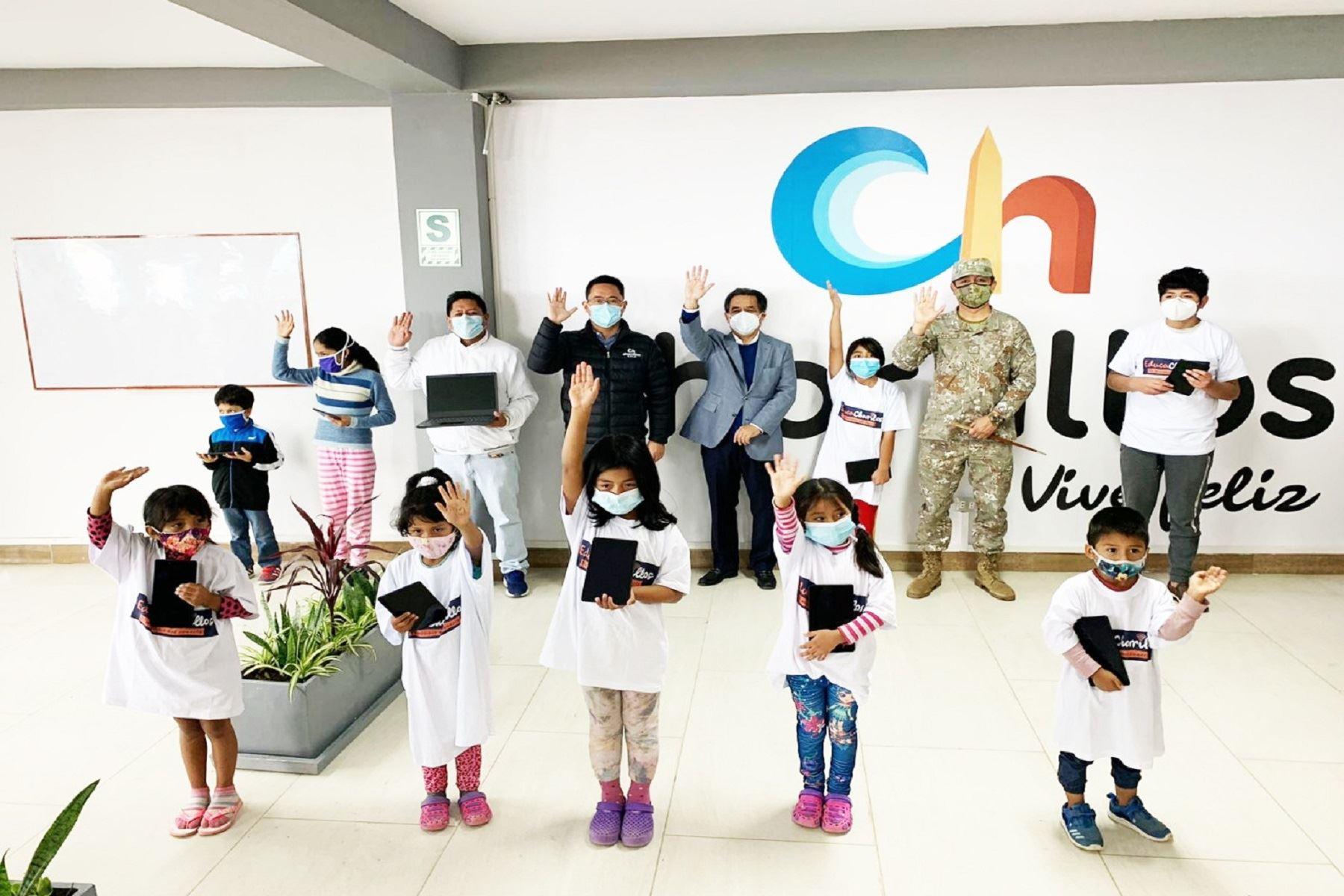 """Chorrillos:Municipalidad lanza """"EducaChorrillos"""" para niños escolares de zonas vulnerables . Foto: Difusión"""