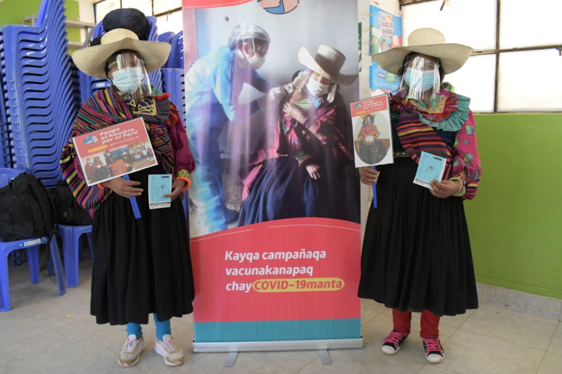 Doce brigadas de la Red de Salud Ferreñafe fueron las encargadas de aplicar las vacunas contra la covid-19. Foto: ANDINA/Difusión