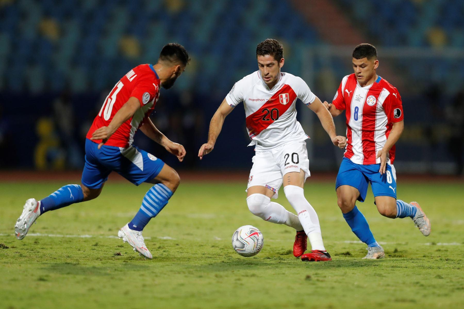 Jugador Santiago Ormeño. Foto: EFE