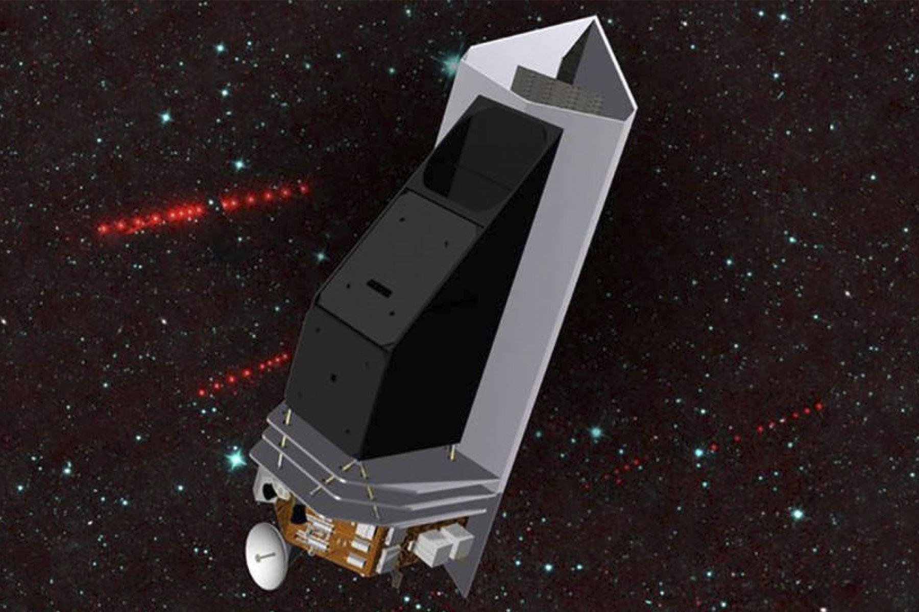 Seguirá en desarrollo el telescopio espacial cazador de asteroides