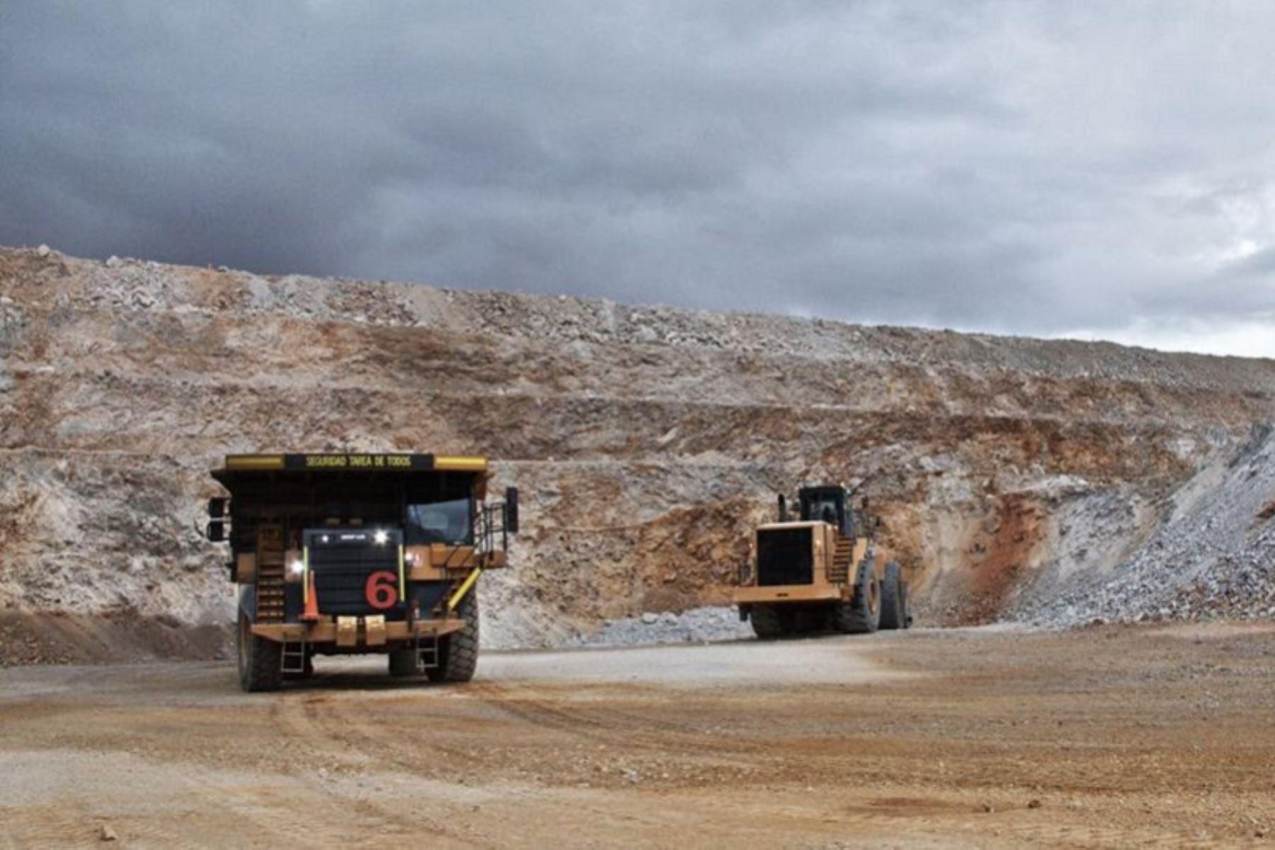 Actividad minera en el Perú. Foto: Cortesía.