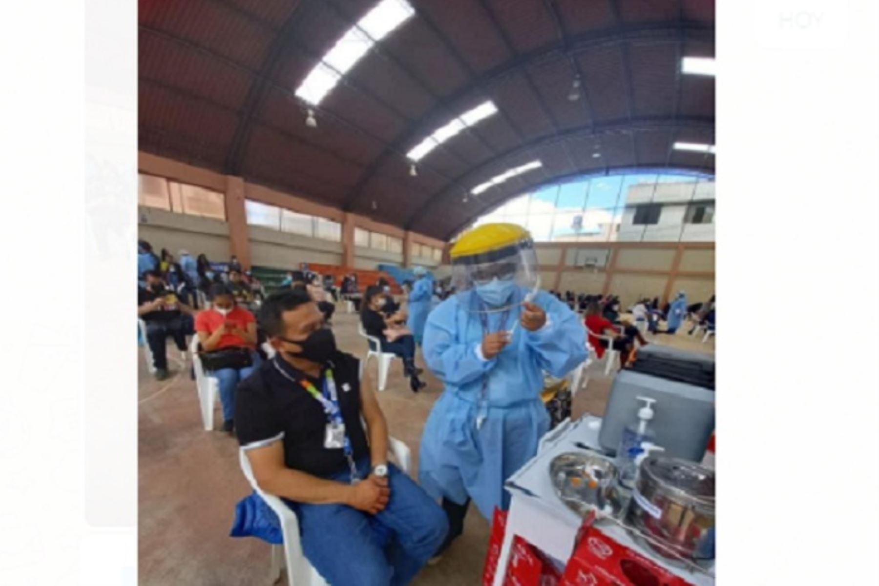 Según la programación del Ministerio de Salud (Minsa), empezará la vacunación de las personas mayores de 55 años de los sectores Villa Huacariz, La Paccha y zonas aledañas.