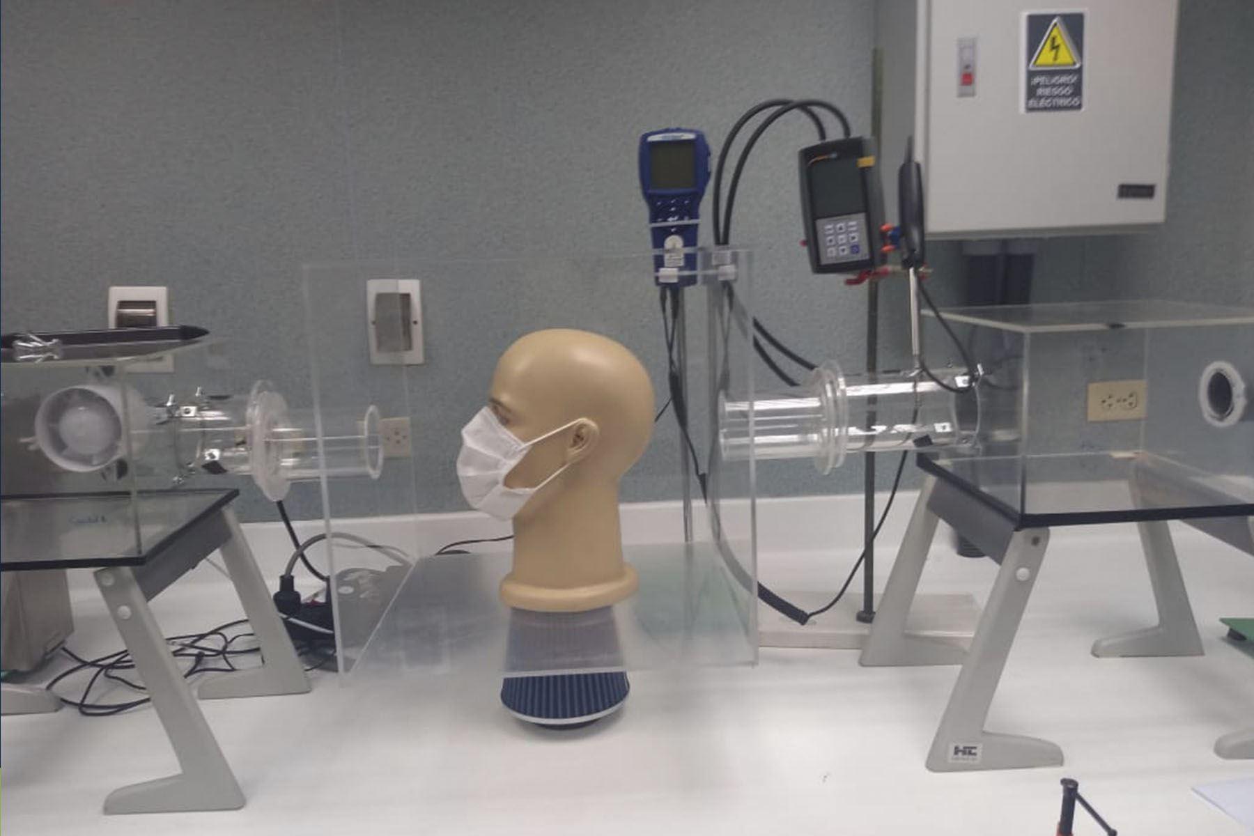Covid-19: Científico peruano crea equipo que mide nivel de protección de las mascarillas