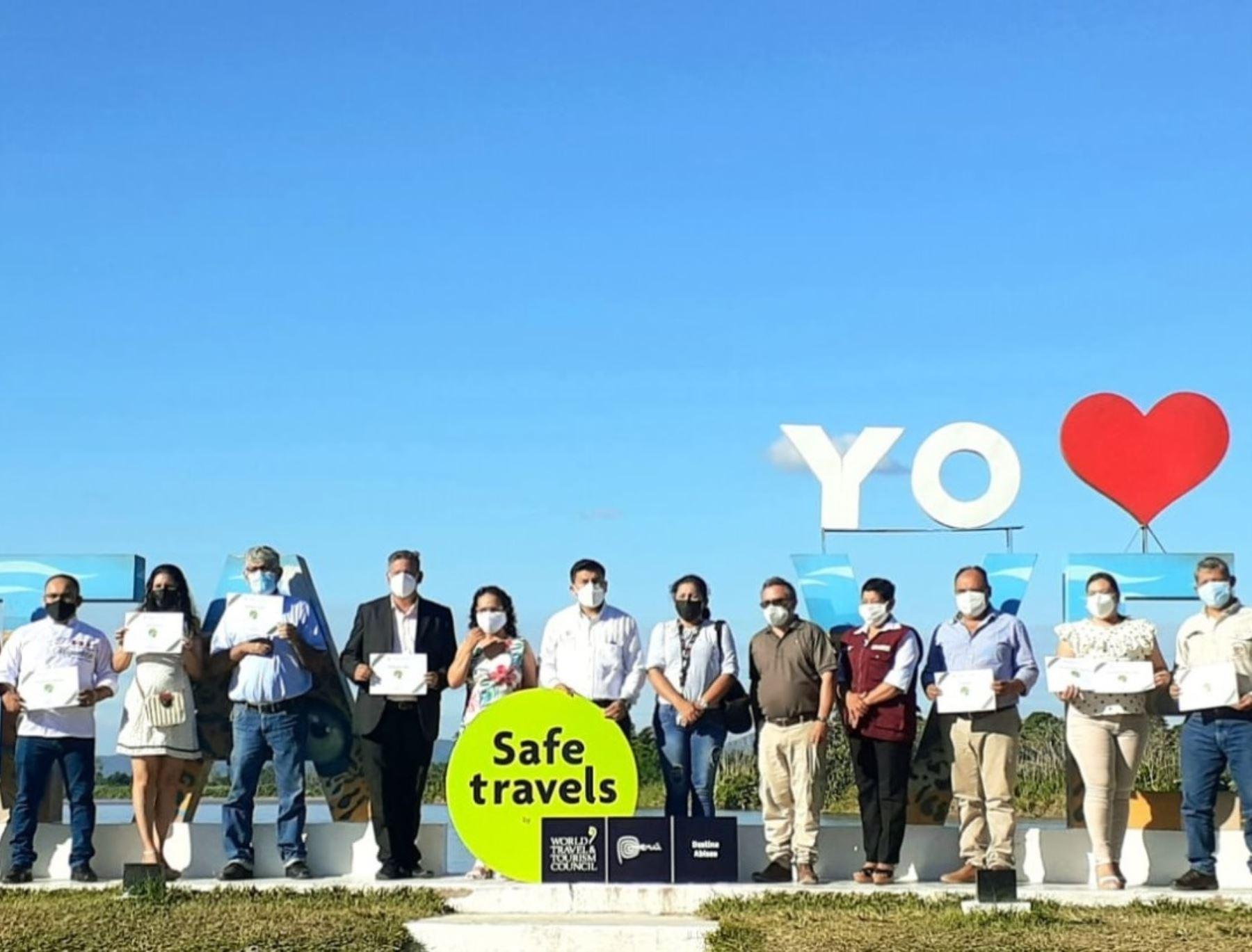 Abiseo-Juanjuí se sumó al grupo de destinos turísticos seguros de la región San Martín que recibió el sello Safe Travels.