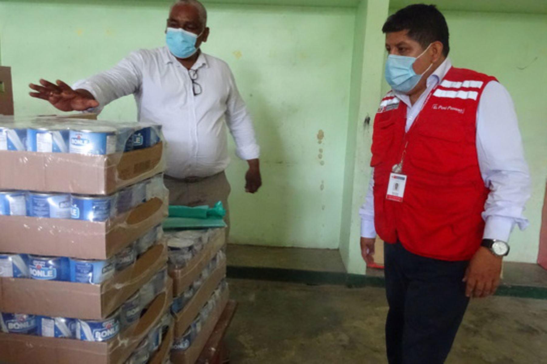 Loreto: docentes se encargarán de la distribución de alimentos de Qali Warma