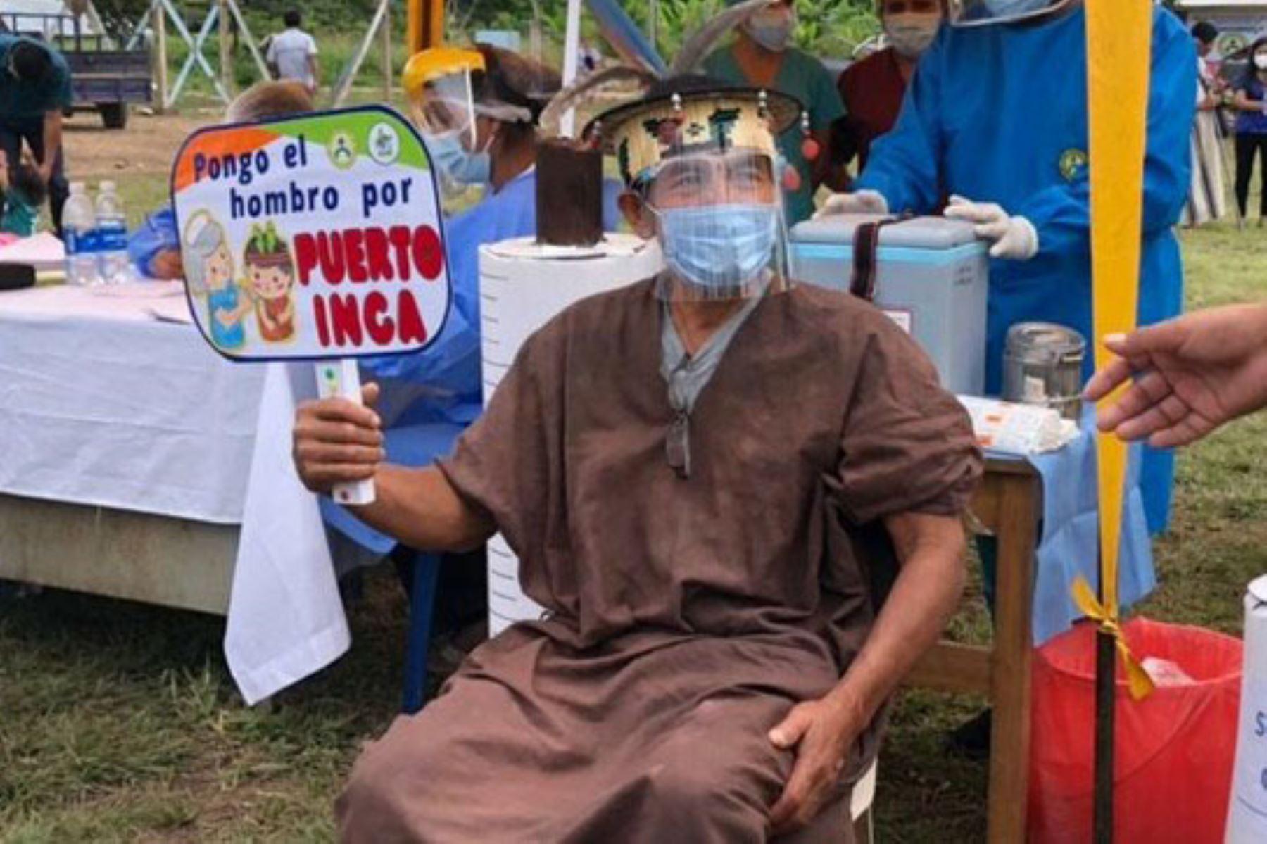 El Ministerio de Cultura difunde mensajes en lenguas indígenas sobre la importancia de la vacunación contra la covid-19. Foto: ANDINA/Difusión