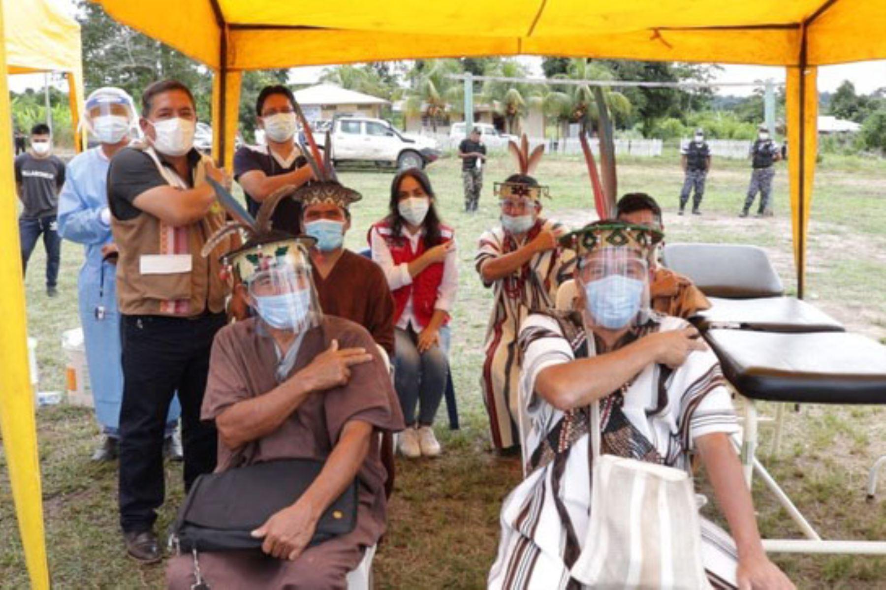 Ministerio de Cultura difunde mensajes en lenguas indígenas durante jornadas de vacunación