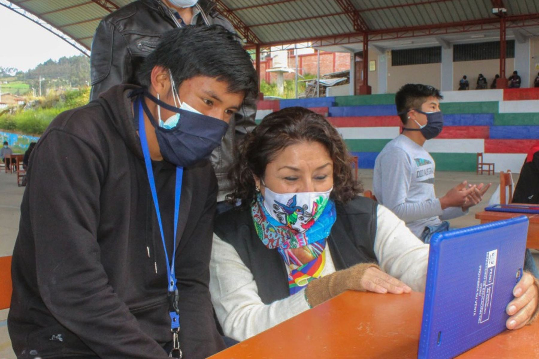 Los días 6 y 7 de julio se prevé aplicar la primera dosis de la vacuna contra la covid-19 a un total de 3,707 maestros rurales. Foto: ANDINA/Difusión