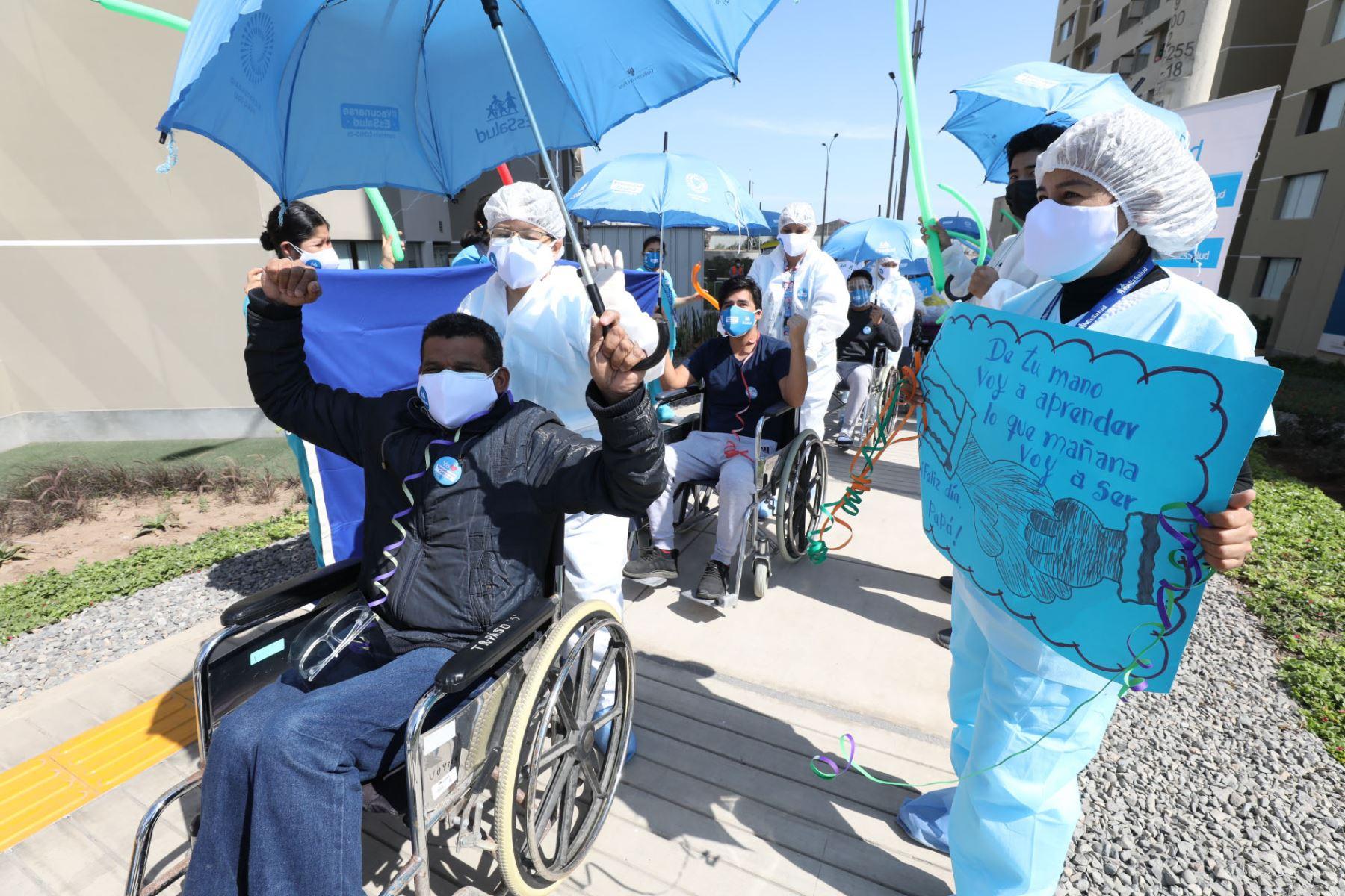 Hasta hoy, 2 millones 27,878 personas han superado la enfermedad, tras cumplir un período de aislamiento domiciliario o recibir el alta médica en un establecimiento de salud. ANDINA/ Minsa